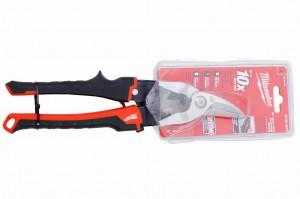 Nożyce do blachy - wygięte - lewe - 260mm - Milwaukee 48-22-4010